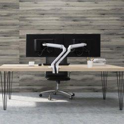 Ergotron MXV dual monitor arm