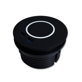 Orb Wireless Charger + USB